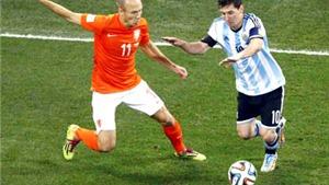 Arjen Robben và Lionel Messi cùng im tiếng: Ngày định mệnh gọi tên Messi