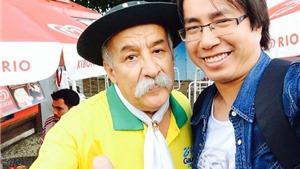 Gặp gỡ CĐV nổi tiếng nhất Brazil: 'Chính đội tuyển Brazil đã làm nhục cả Brazil'