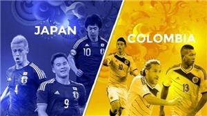 Link xem trực tiếp Colombia vs Nhật Bản (19h00, 19/6)