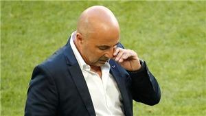 Vấn đề của Argentina là Sampaoli đánh mất bản năng