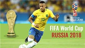 Cơ hội của Neymar, giấc mơ vàng của Brazil