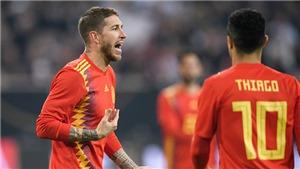 Sergio Ramos giận dữ, hung hăng nhưng một Tây Ban Nha hỗn độn rất cần anh