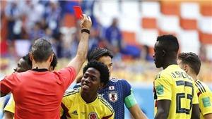 ĐIỂM NHẤN Colombia 1-2 Nhật Bản: Thẻ đỏ khiến Colombia ôm hận. James Rodriguez không thể là 'cứu tinh'