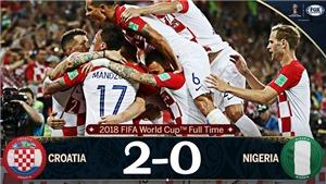 Video clip bàn thắng trận Croatia 2-0 Nigeria: Thắng nhờ phản lưới và penalty