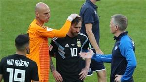 Messi: 'Thật đau đớn khi đá hỏng 11m. Tôi chịu trách nhiệm về kết quả này'