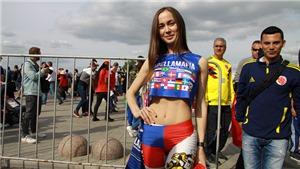 Chiêm ngưỡng nhan sắc những cô gái Nga xinh đẹp ở World Cup 2018