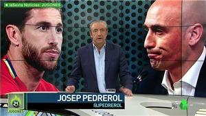 SỐC!!! Sergio Ramos đánh nhau với Chủ tịch LĐBĐ Tây Ban Nha, Pique nhảy vào can