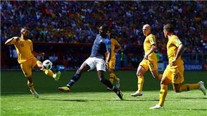 ĐIỂM NHẤN Pháp 2-1 Australia: Giá trị Pogba và sự sáng suốt của Deschamps