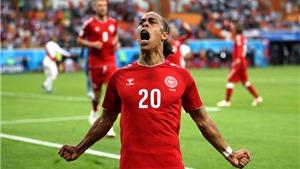 Video clip bàn thắng trận Peru 0-1 Đan Mạch: Poulsen ghi bàn nhưng Schmeichel hay nhất