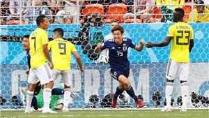 Video clip bàn thắng Colombia 1-2 Nhật Bản