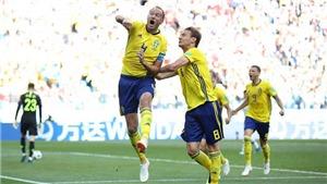 Video clip bàn thắng trận Thụy Điển 1-0 Hàn Quốc