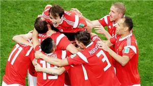 Video clip bàn thắng Nga 3-1 Ai Cập: Salah đã trở lại và ghi bàn nhưng không đủ